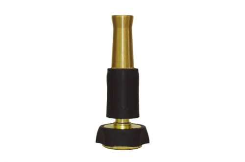"4"" Brass Nozzle with Rubber Protector BW-N105R"