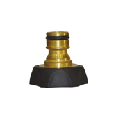"3/4"" Brass Tap Adaptor With Rubber Protector BW-C308R"
