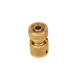 "1/2"" Brass Hose Repair Connector Without Water Stop BW-C313"