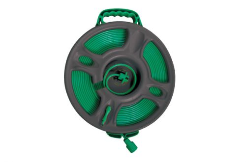 Flat Hose With Plastic Male & Female Connector, Hose Reel