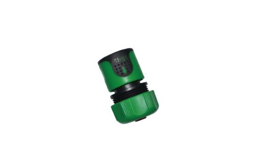 "3/4"" Water Stop Hose Connector & Metal Nut W-3190S"