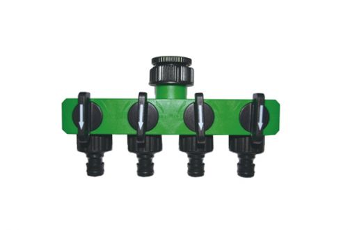 Water Hose Splitter, 4-Way Hose Splitter