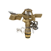 Brass Impact Sprinkler, Brass Impulse Sprinkler