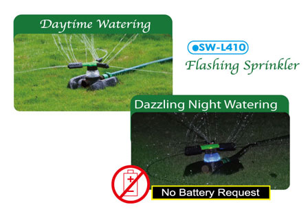 SW-L410 Flashing Sprinkler
