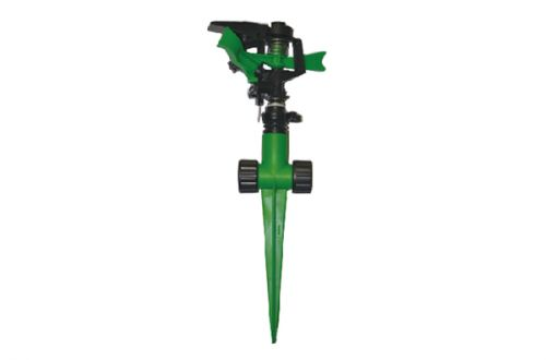 Plastic Impulse Sprinkler With Plastic 2-Way Spike PS2