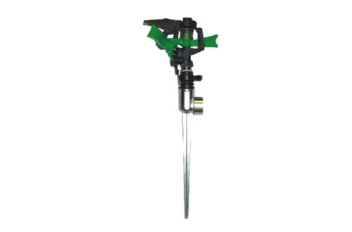 Plastic Impulse Sprinkler With Metal 1-Way Spike PS3