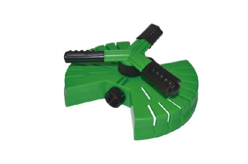 3-Arm Plastic Sprinkler With Butterfly Base W-4020
