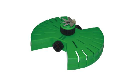 Aluminum Fan Sprinkler with Plastic Butterfly Base W-4026