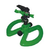 Plastic Pulsating Sprinkler With Plastic Base W-4101