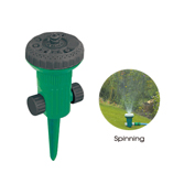9 Pattern Sprinkler with Spinning Center W-4196